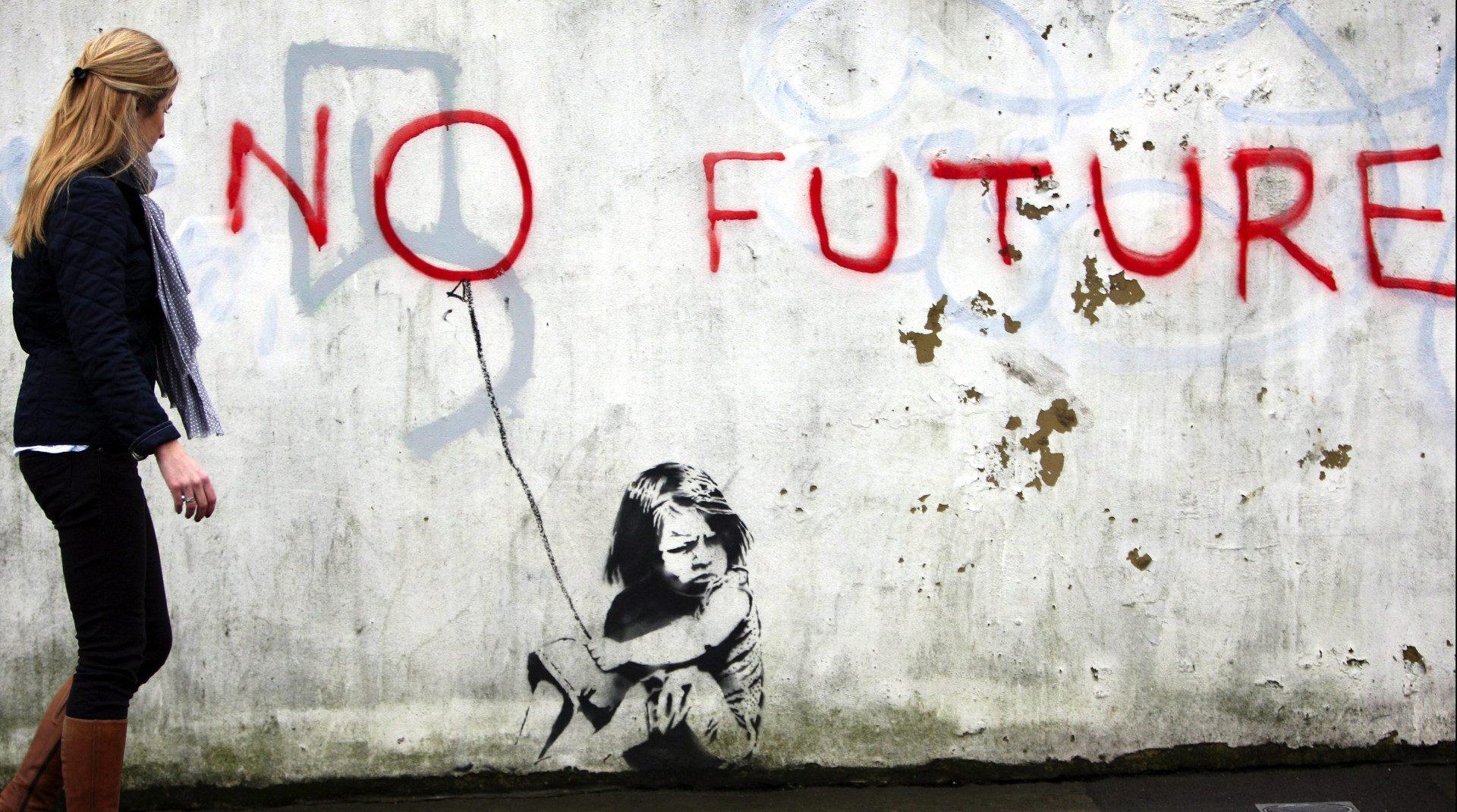 Banksy financia un barco de rescate en el mediterráneo central.