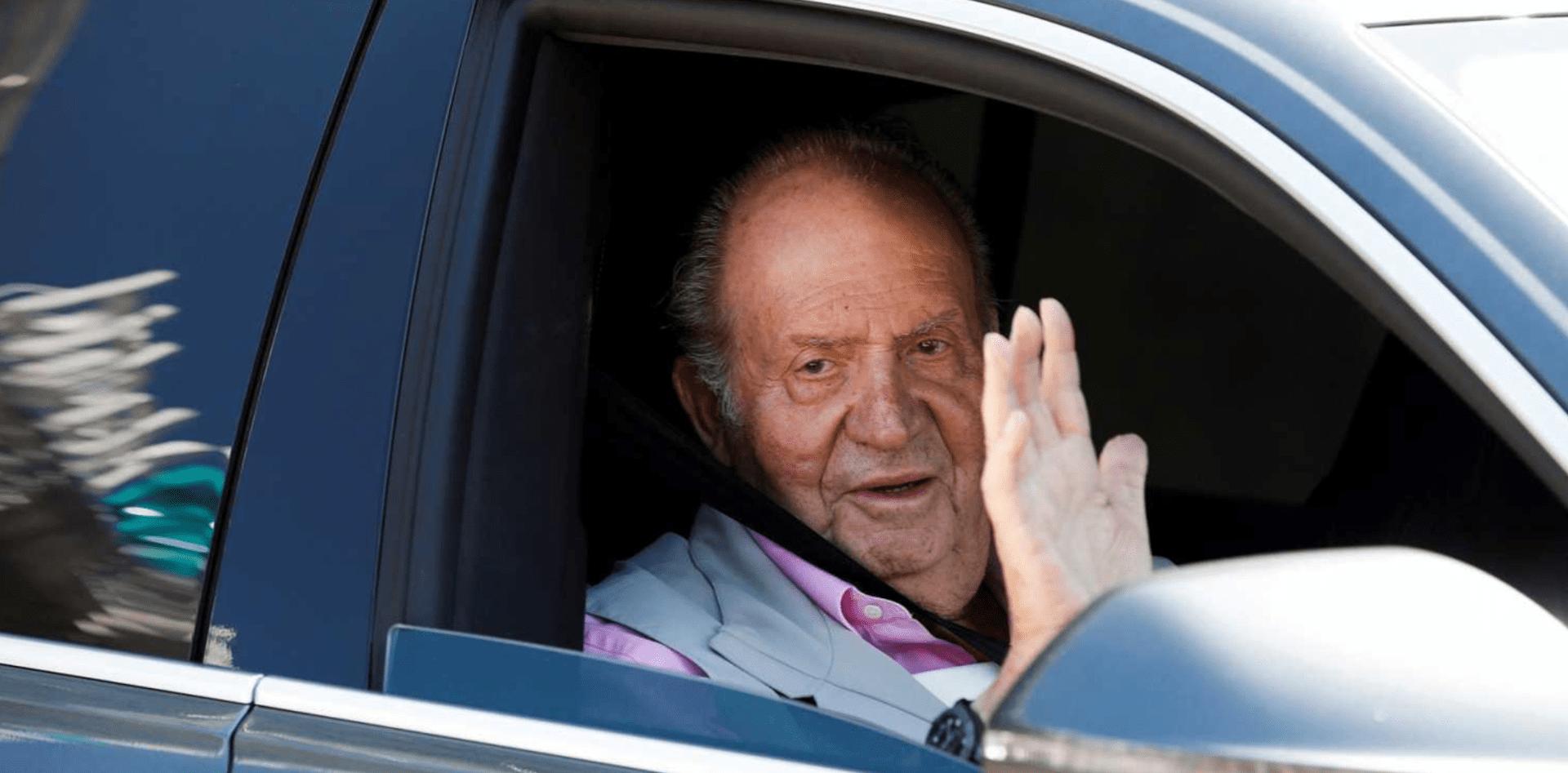 El rey emérito se marcha de España.