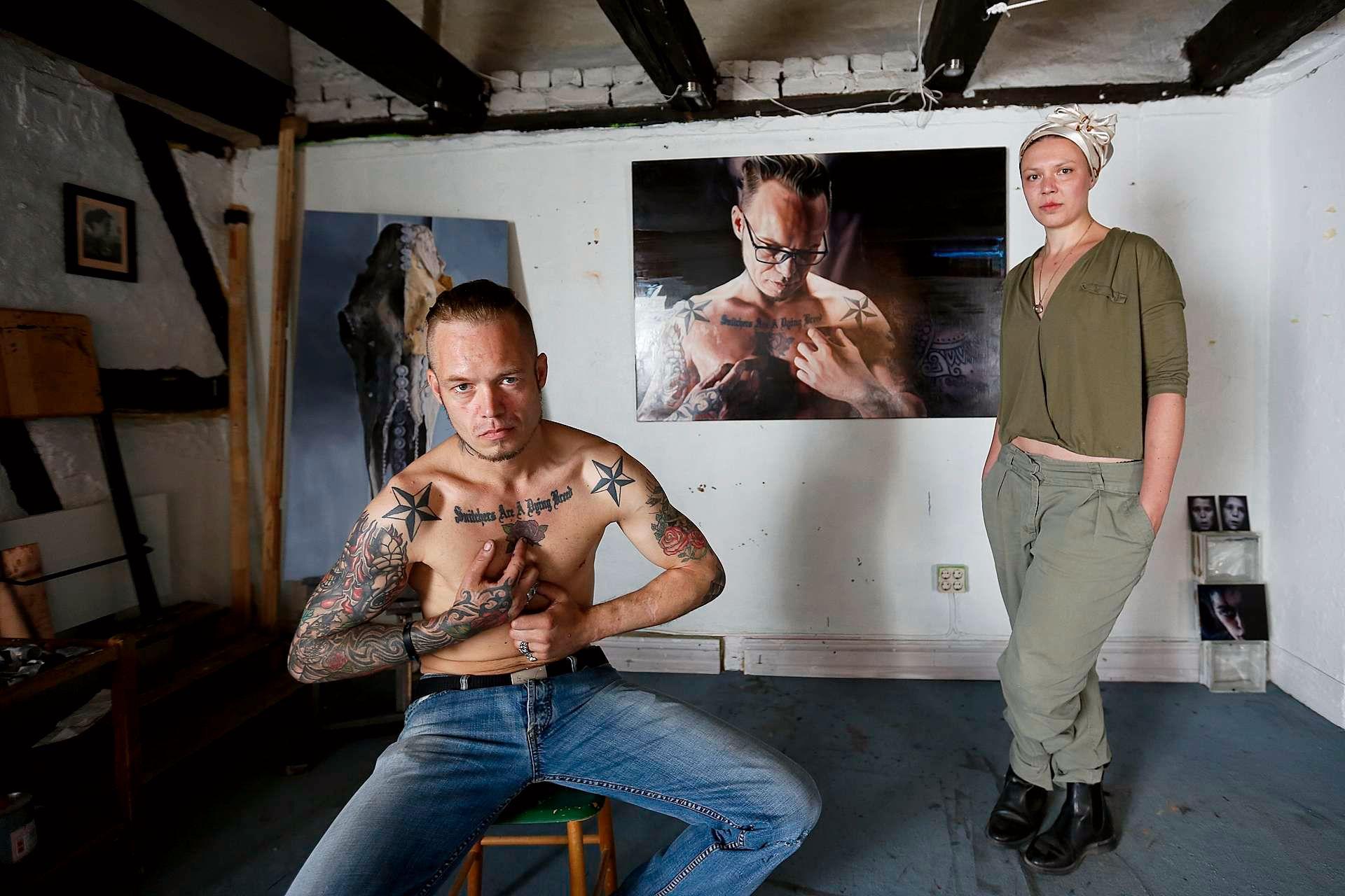 La pintora y el ladrón documental Altàntida Filmfest