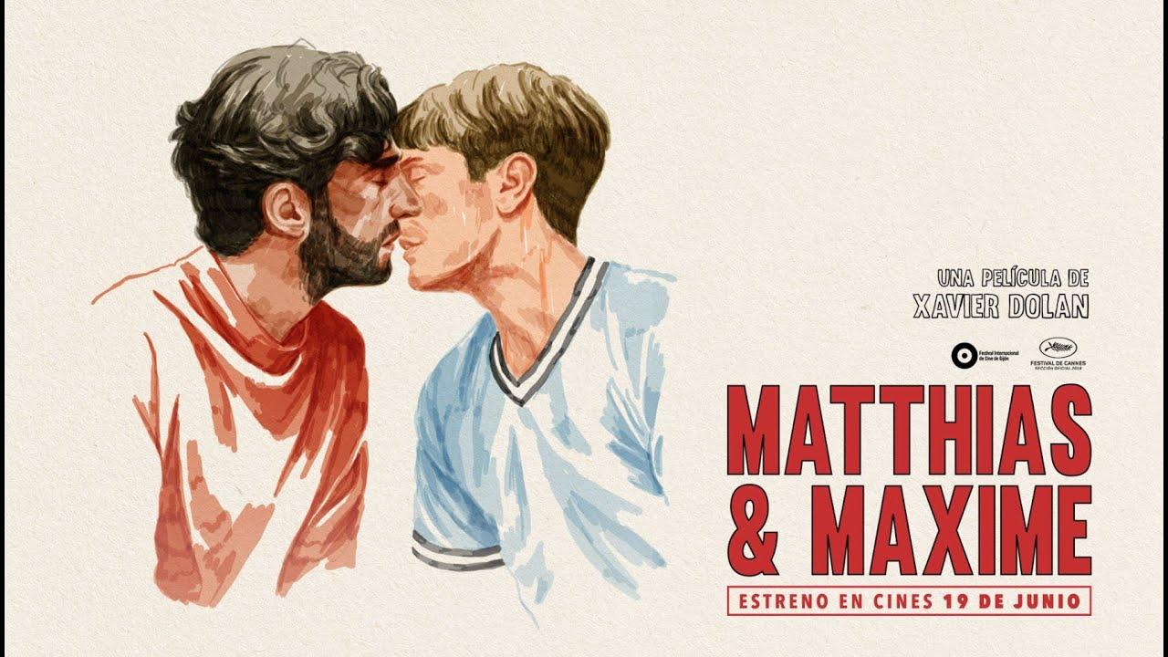 Póster de Matthias y Maxime la última película de Xavier Dolan.