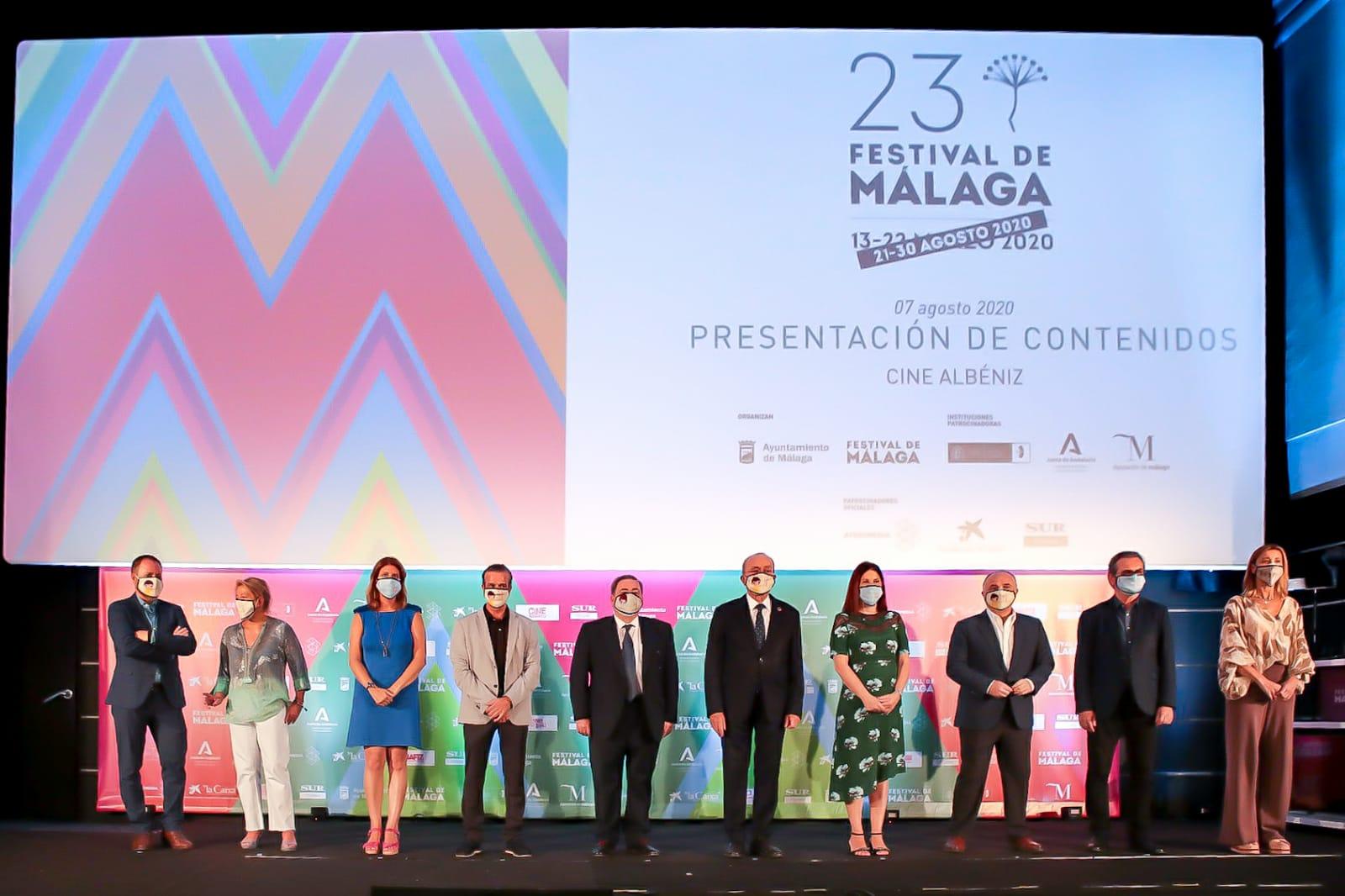 Agosto será el mes de cine en Málaga. Festival de Málaga