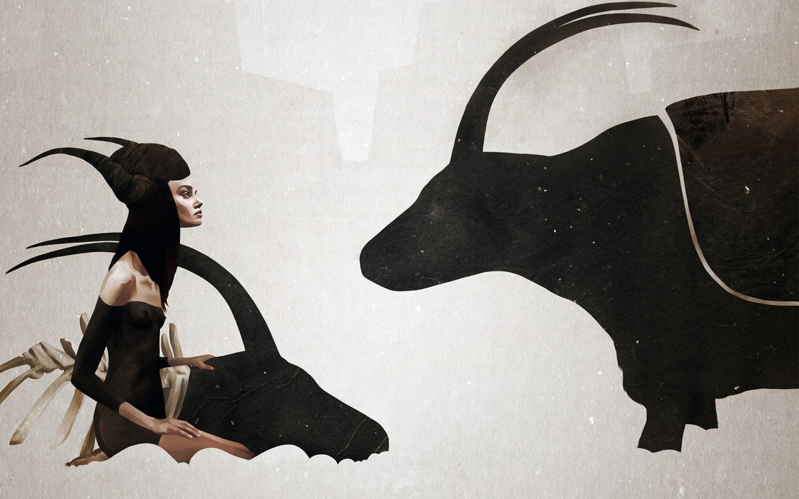 Ruben Ireland y sus ilustraciones que unen naturaleza y mujer.