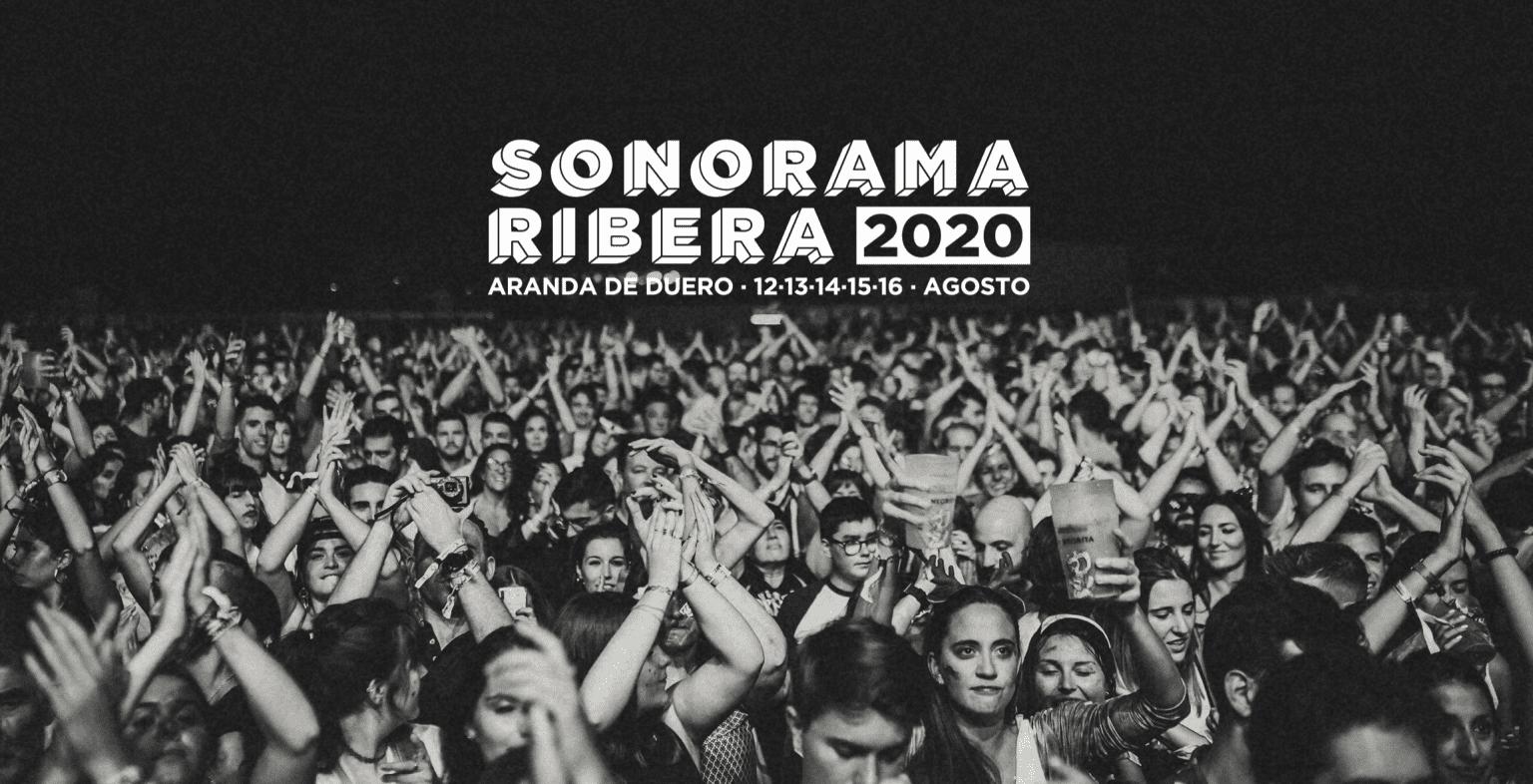 cartel promocional del Sonorama 2020. Aranda del Duero