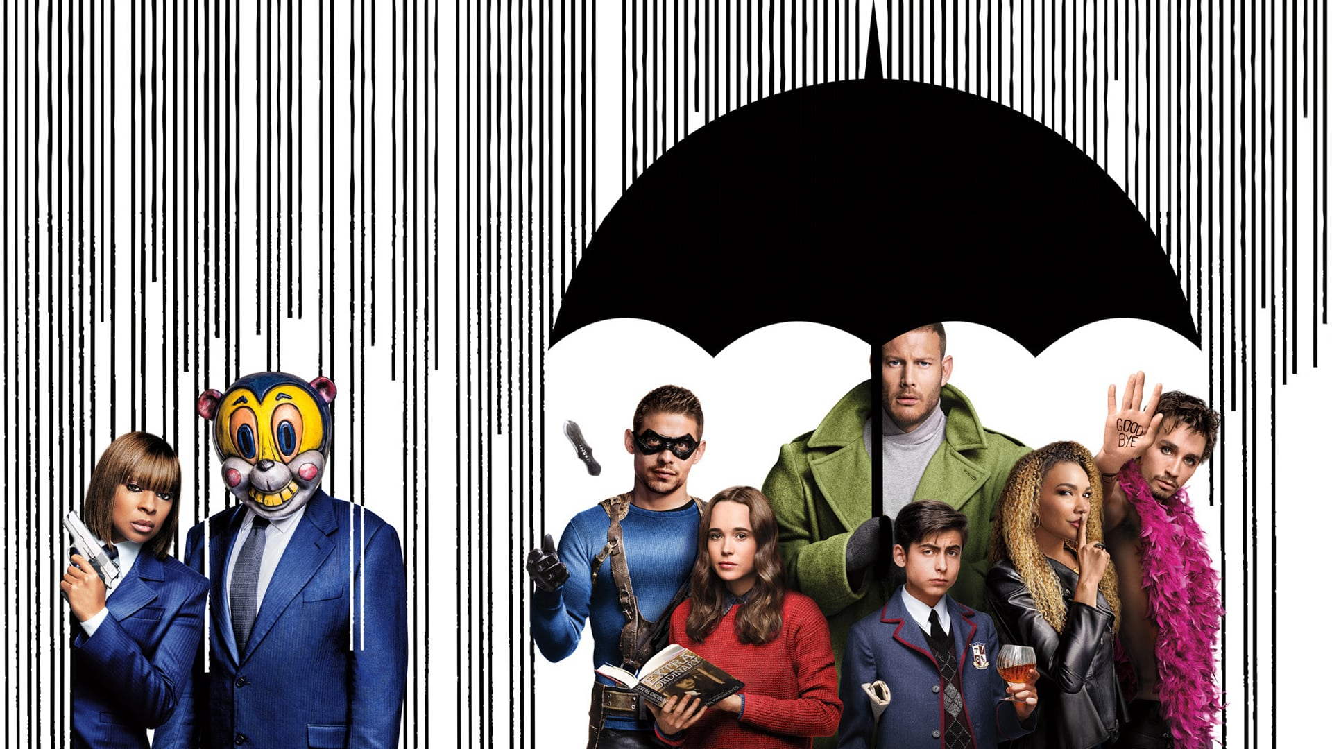 Umbrella Academy, serie, segunda temporada, Netflix
