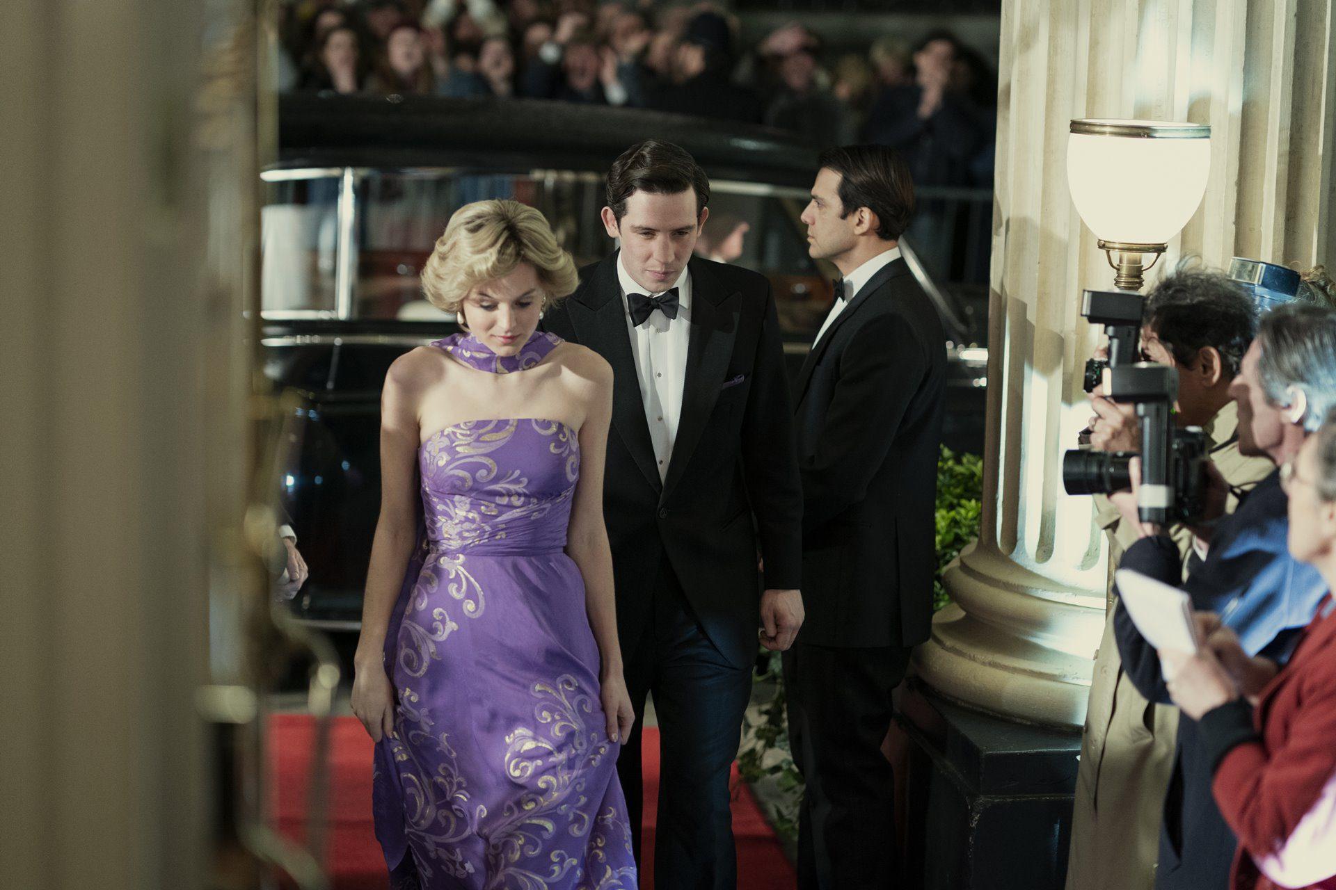 Lady Diana Spencer y el Príncipe Carlos de Inglaterra.