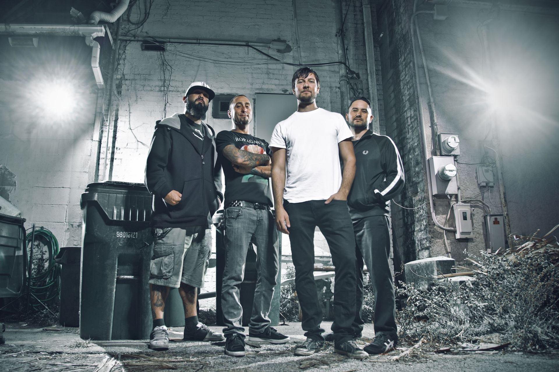 La banda de punk-rock Authority Zero. Photo credit: Kurt Hudson.