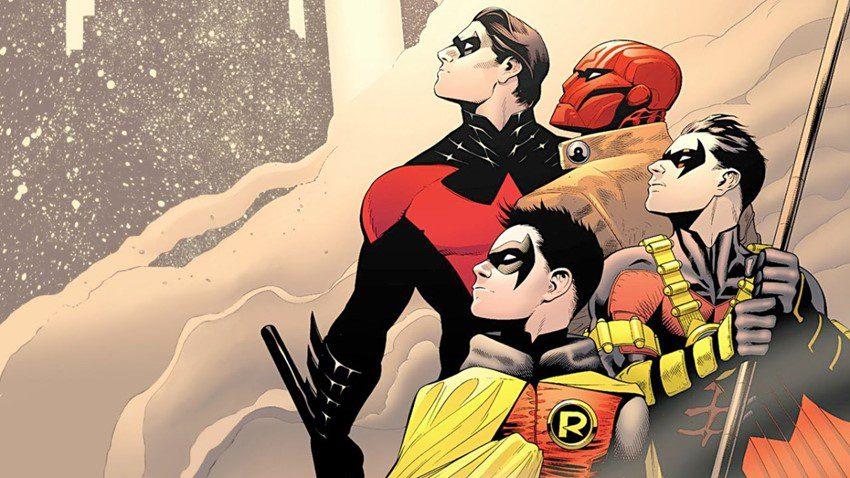 Las encarnaciones de Robin.