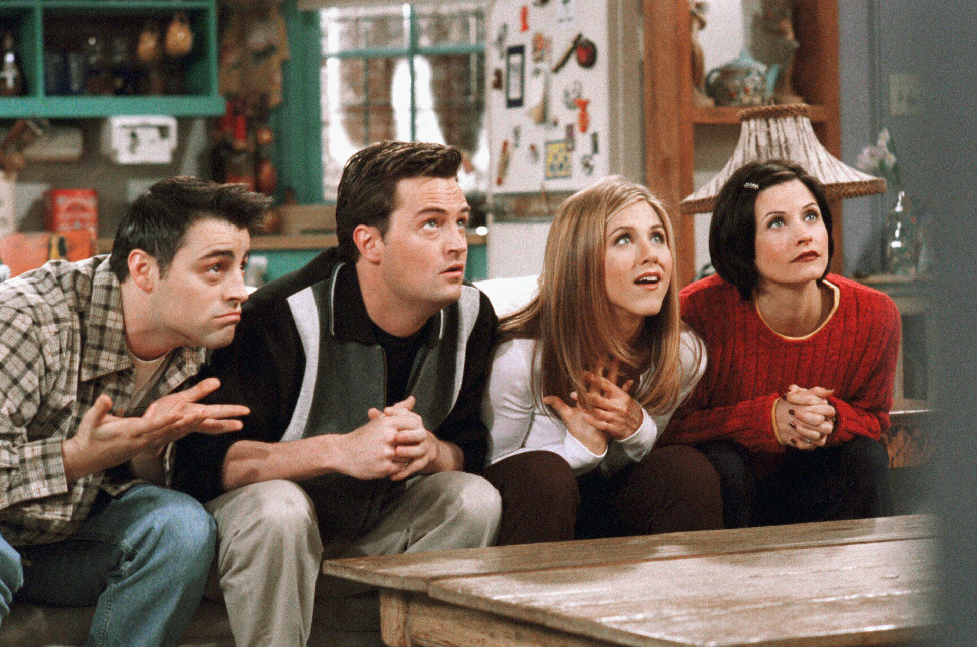 Los protagonistas de la serie Friends.