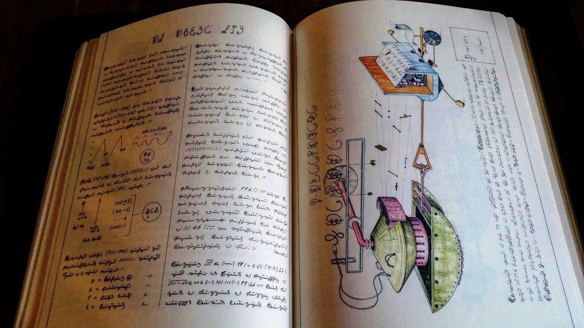 El libro de Luigi Serafini, Codex Seraphinus, aún sigue creando sueños