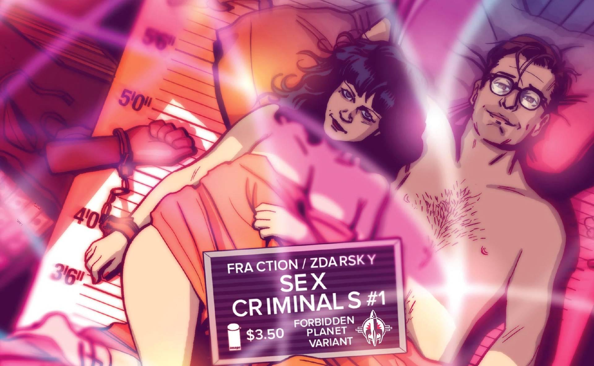 'Sex criminals', el patio de recreo de Matt Fraction
