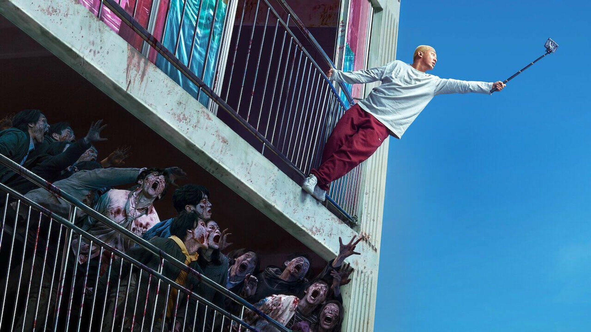 #Vivo, película de zombis coreana sobre estar encerrado rodeado de muerte.