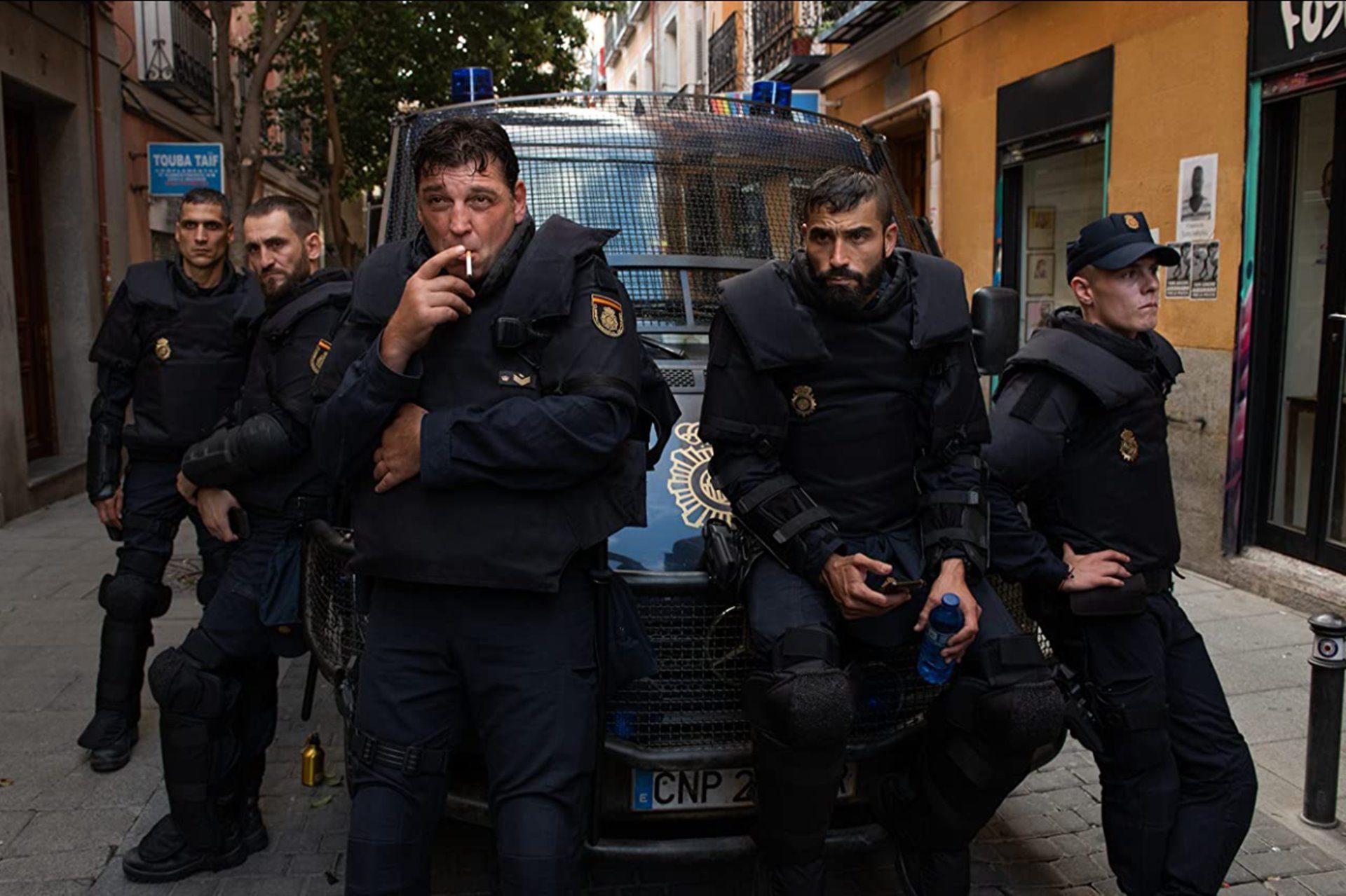 Antidisturbios, la nueva ficción española.