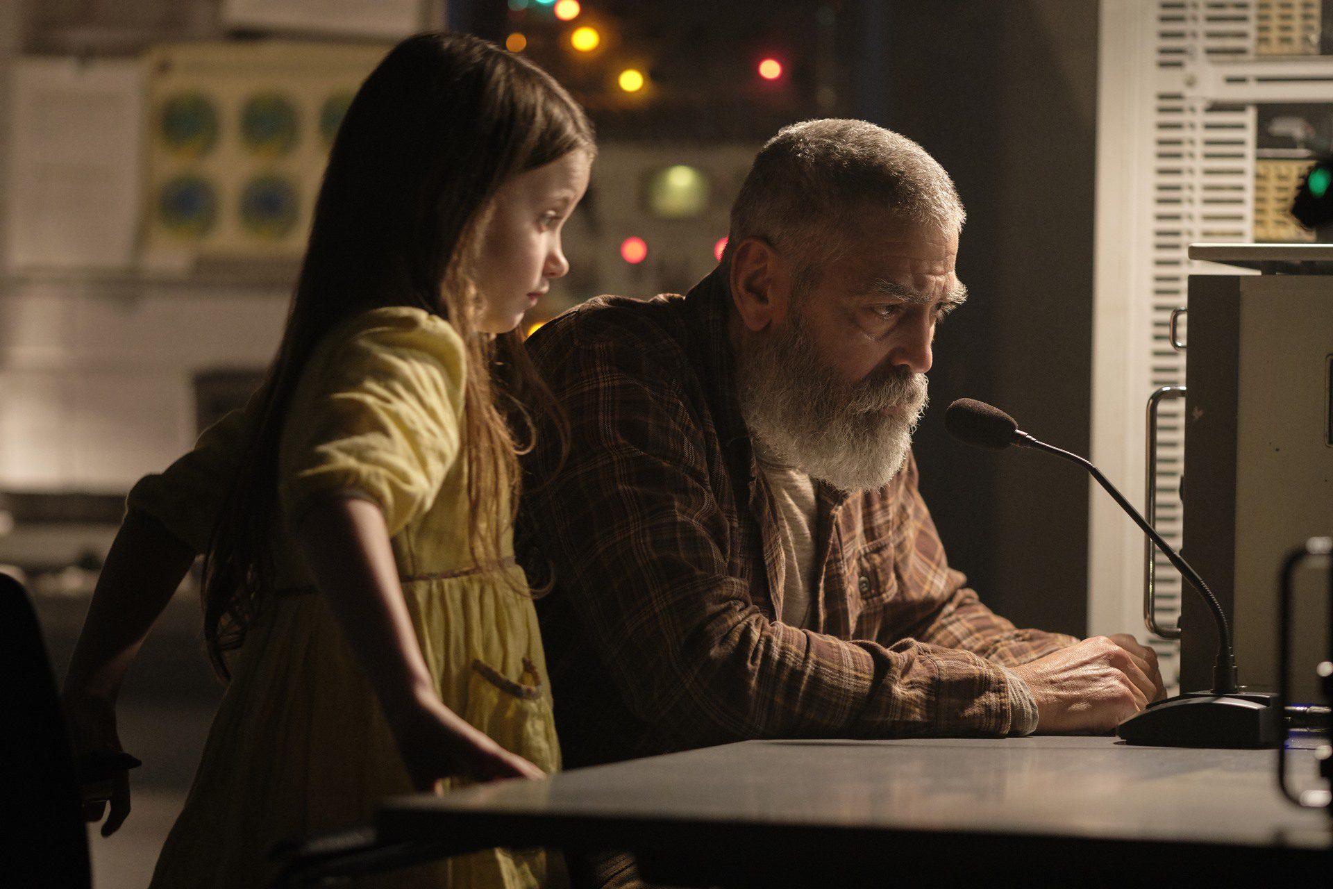 Cielo de medianoche, la nueva película de George Clooney. Imagen: Phiplippe Antonello, Netflix.