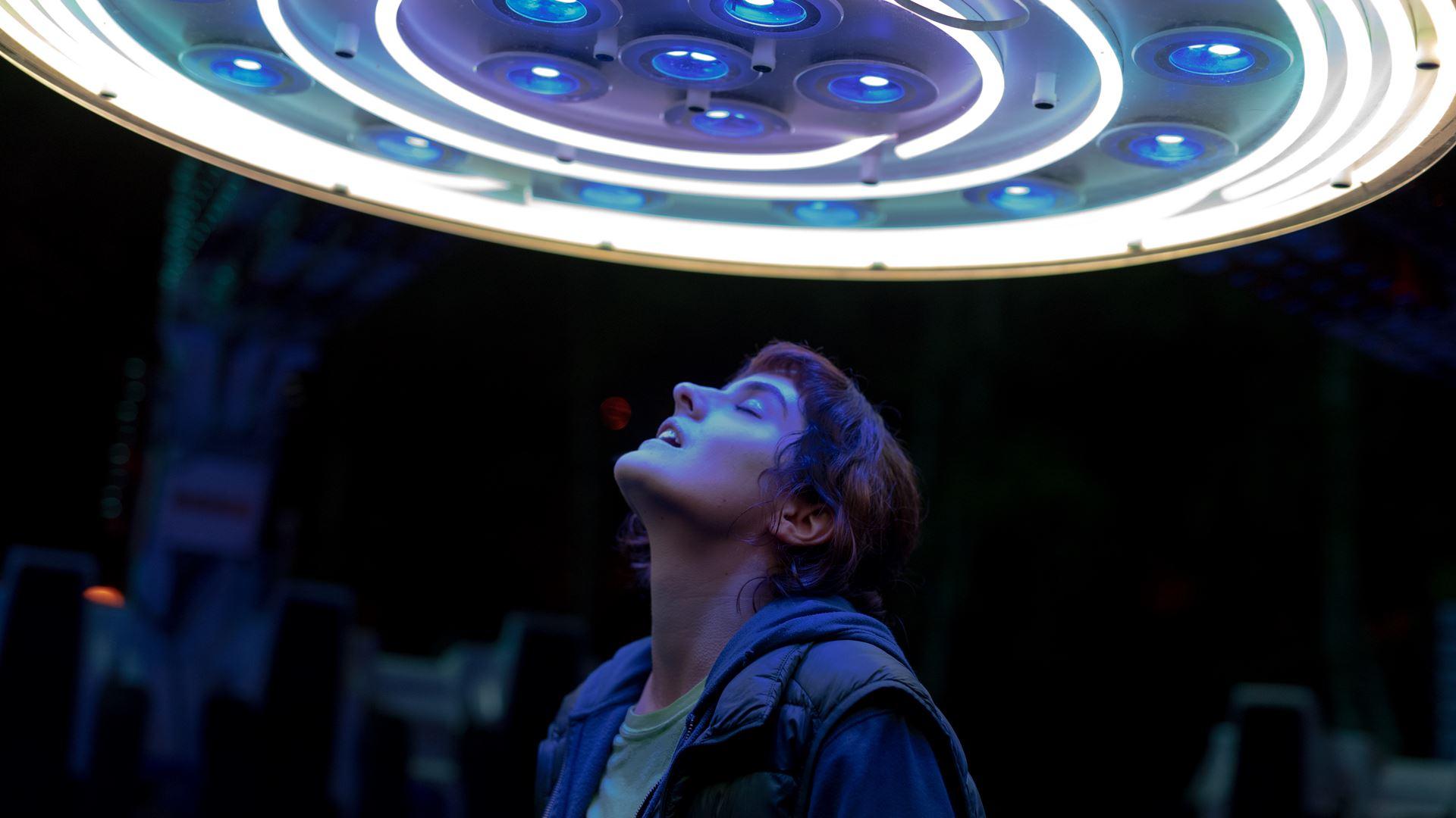 Jeanne (Noémie Merlant) en la película Jumbo.
