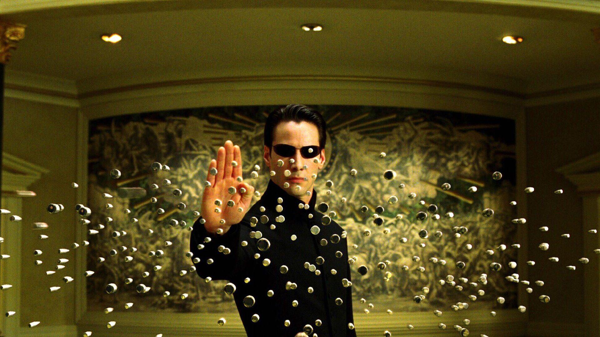 Imagen de la película Matrix (1999).
