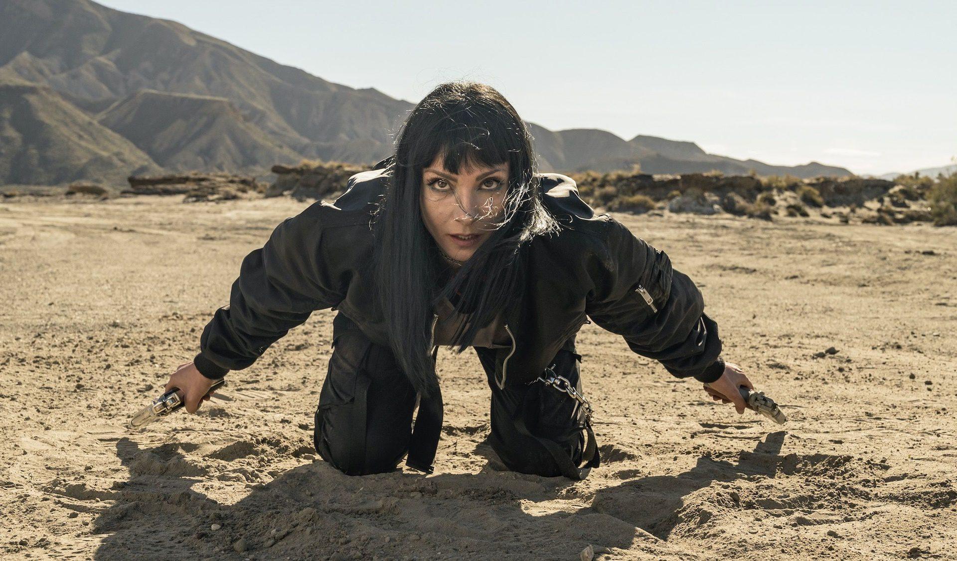 Nawja Nimri en una escena de la serie Vis a Vis.