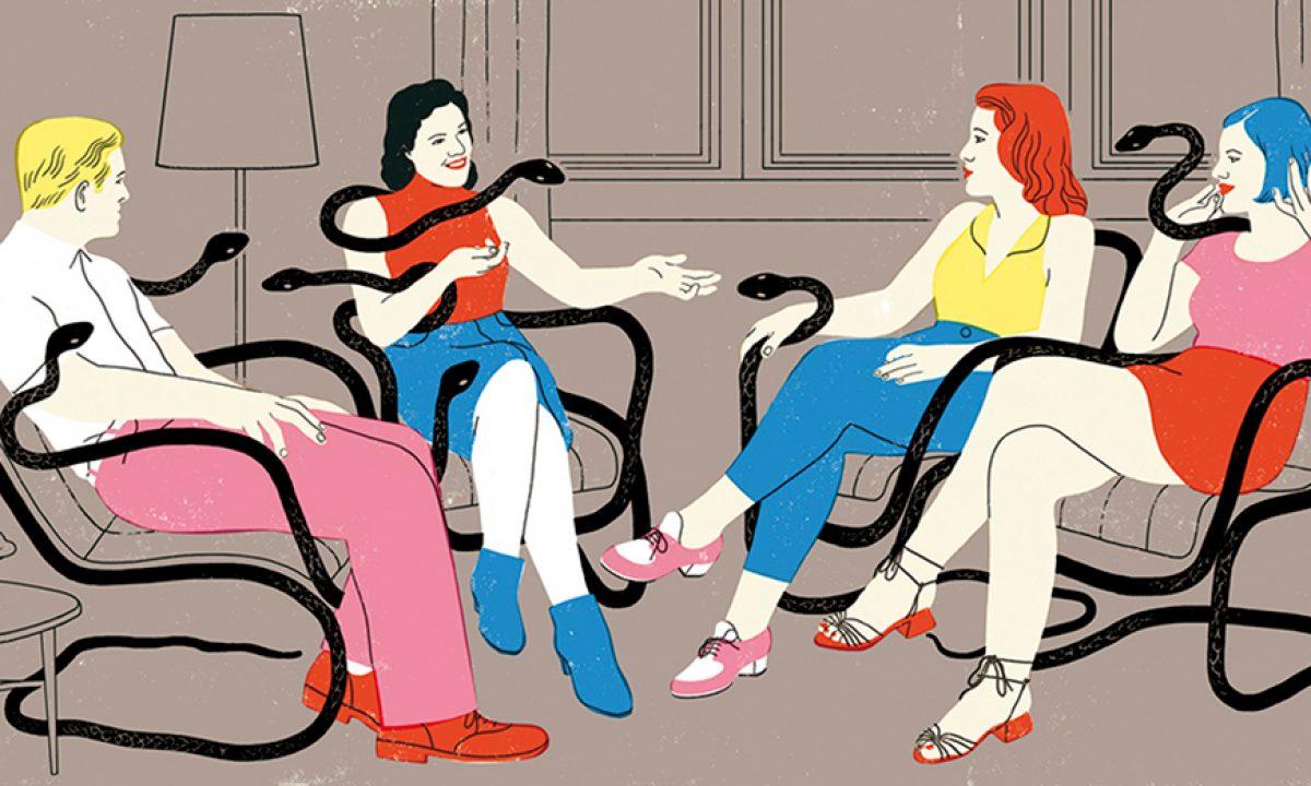 Ilustración de Sonia Pulido para The New York Times.