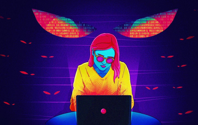 Imagen que simboliza los peligros ocultos que puede esconder la tecnología.
