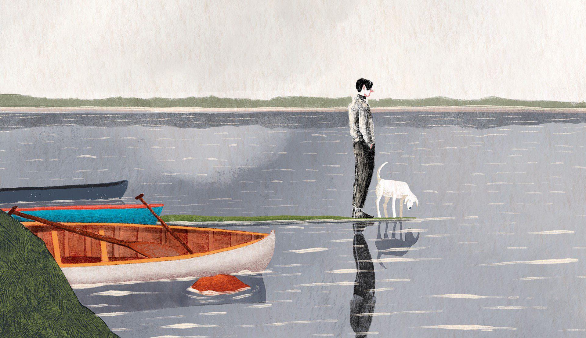Tom Thomson, bocetos de primavera. Un cómic que te atrapará.