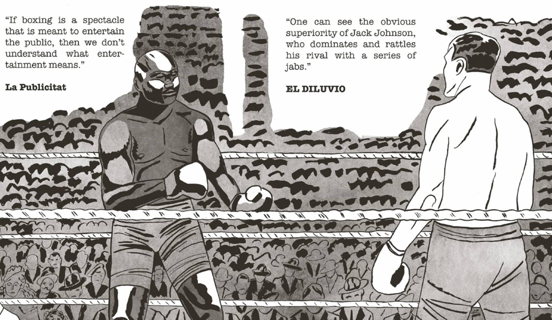 A Tale of Two Arthurs un cómic sobre prejuicios, racismo y boxeo.