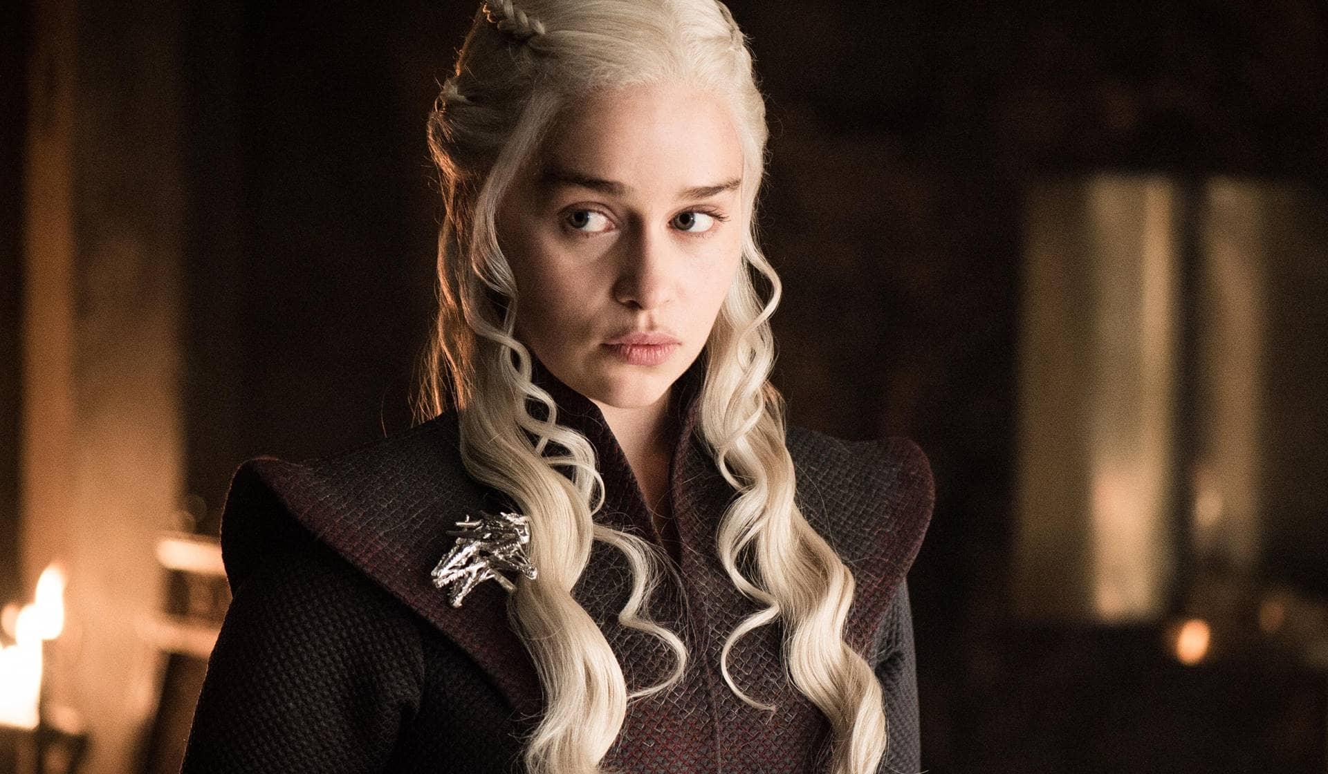 Emilia Clarke en Juego de Tronos.