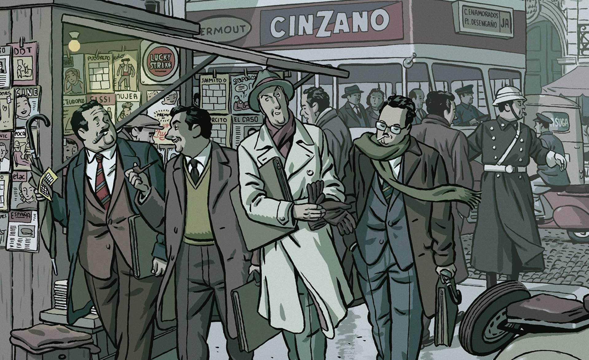 El invierno del dibujante es una novela gráfica de Paco Roca, publicada originalmente en 2010 por Astiberri Ediciones.