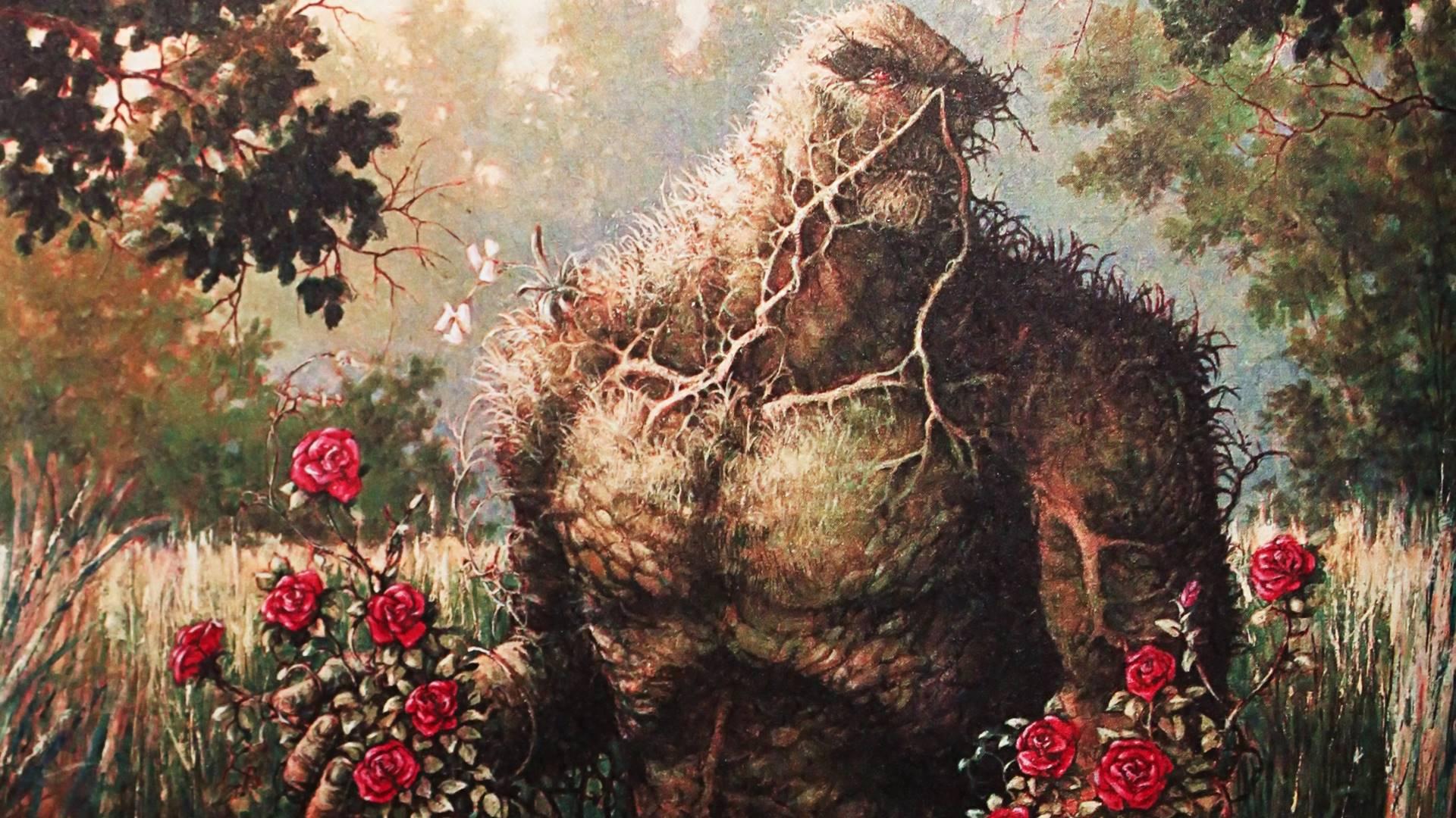 Una de las mejores obras del maestro Alan Moore. La Cosa del Pantano