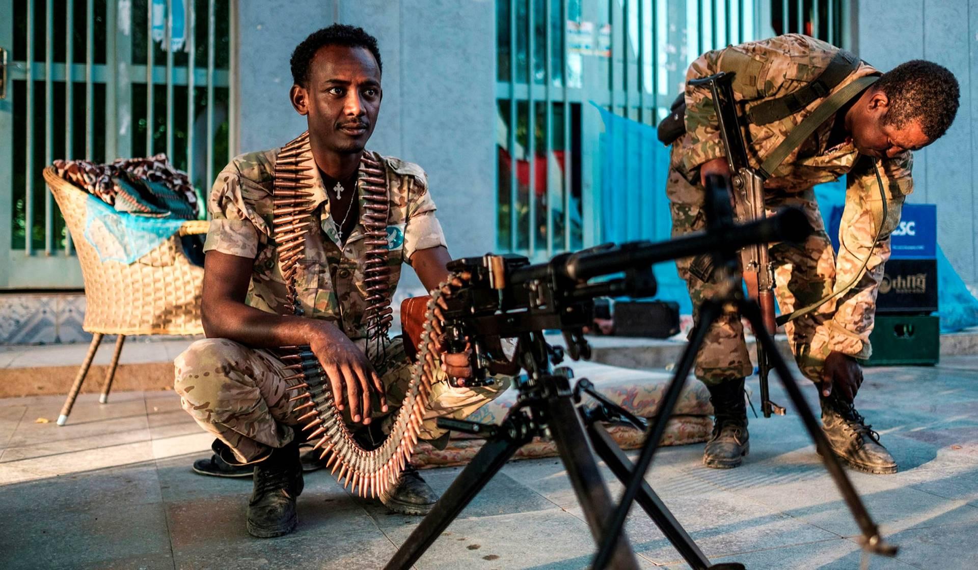 Guerra silenciada entre Etiopía y Tigray.