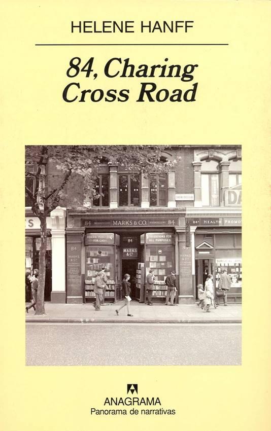 84, Charing Cross Road editado por Anagrama