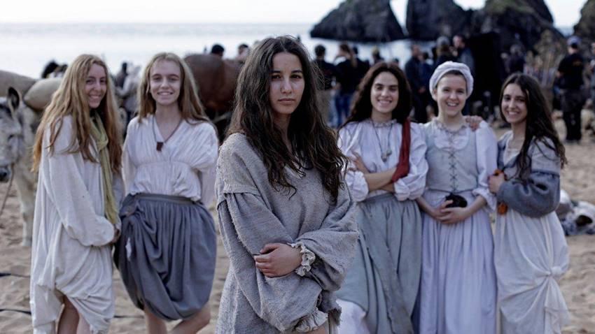 Amaia Aberasturi como Ana en Akelarre.