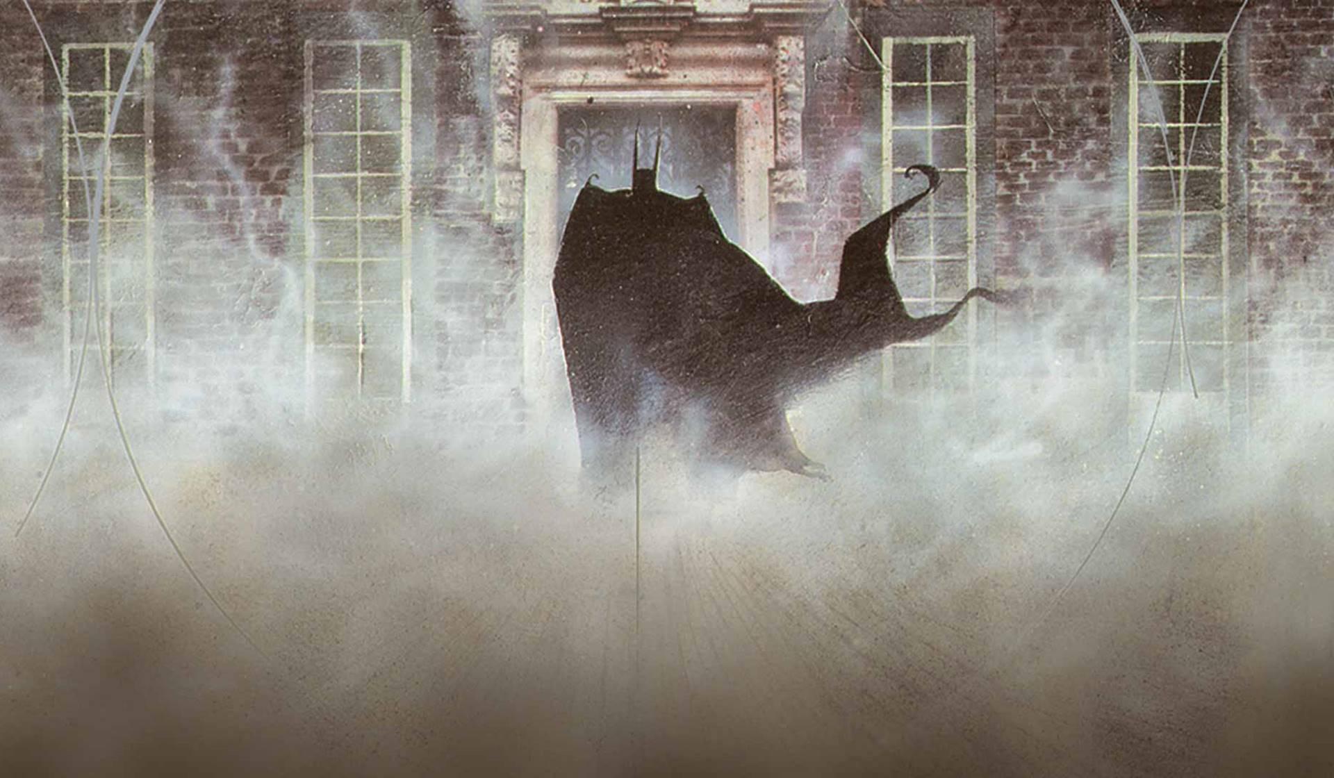 Arkham Asylum de Grant Morrison y Dave McKean