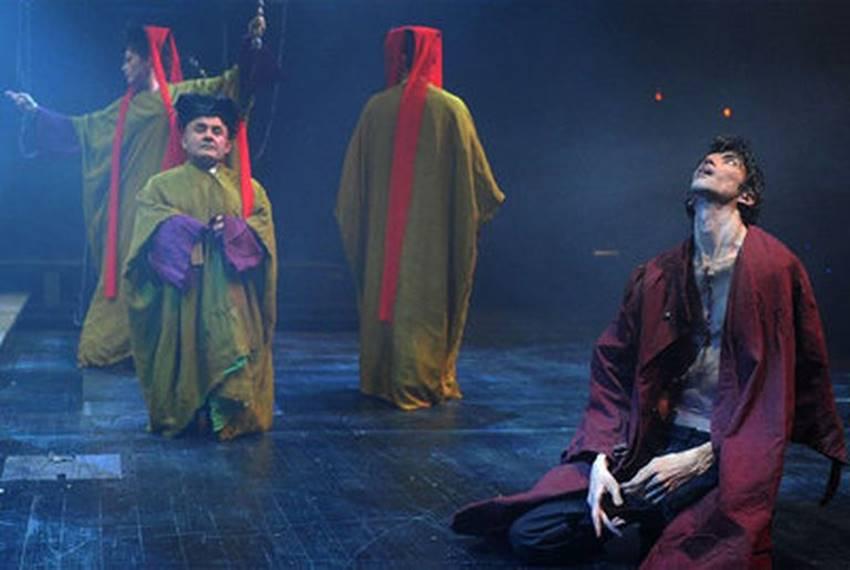 Javier Botet en Frankenstein