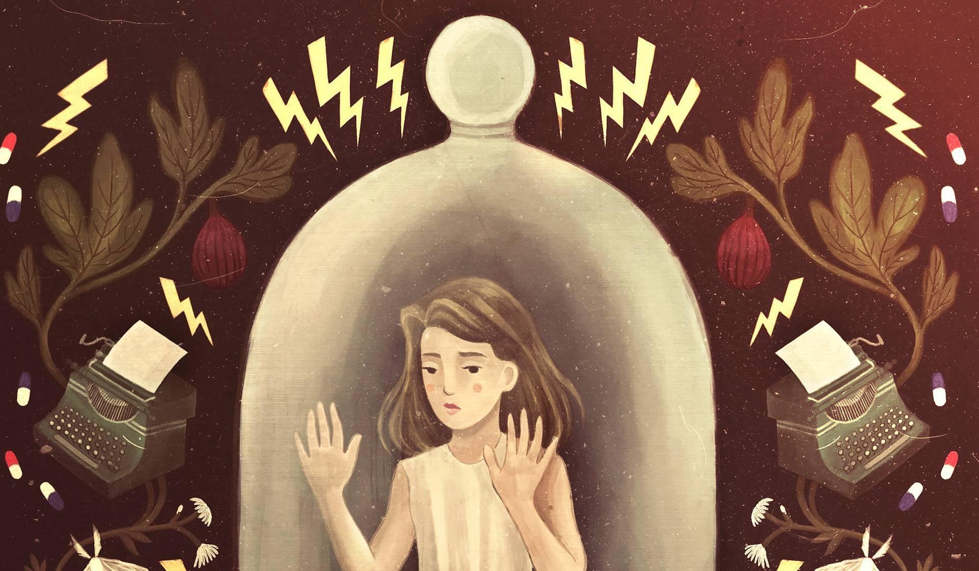 La novela 'La campana de cristal' de Sylvia Plath