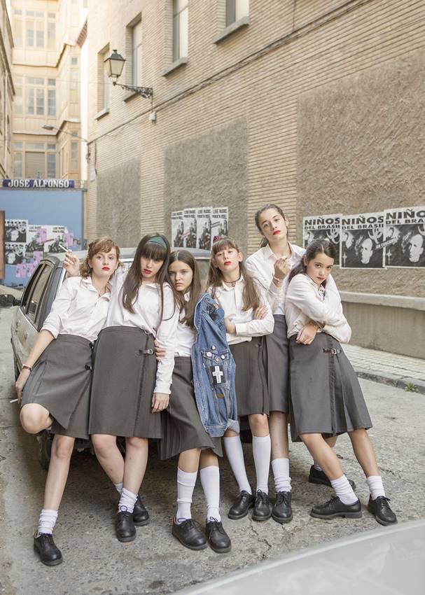 Las protagonistas de 'Las niñas', de Pilar Palomero