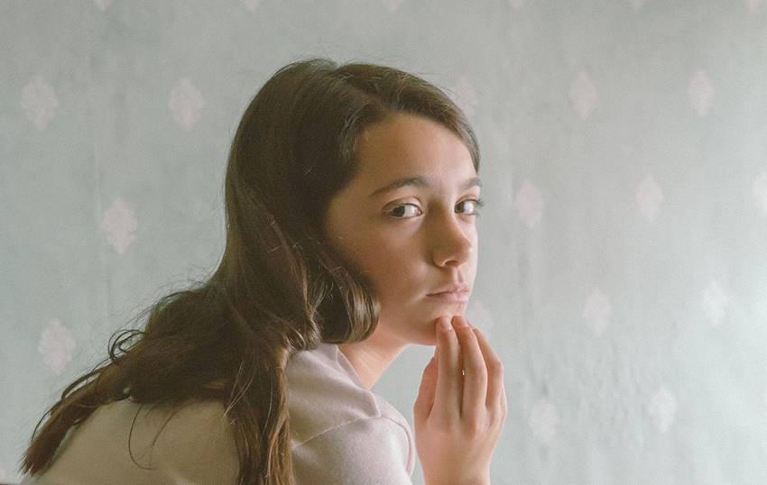 Andrea Fandos en Las niñas.