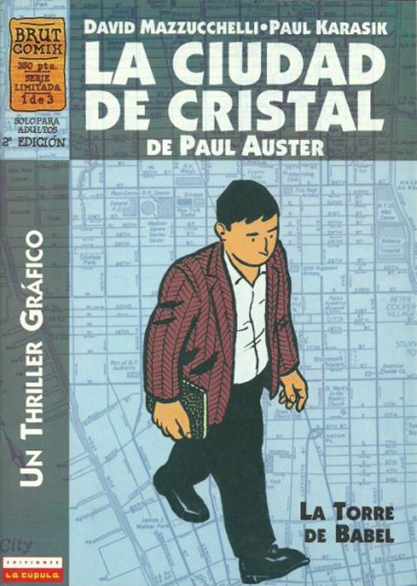 Adaptación a cómic de La ciudad de cristal de Paul Auster, La Cúpula.