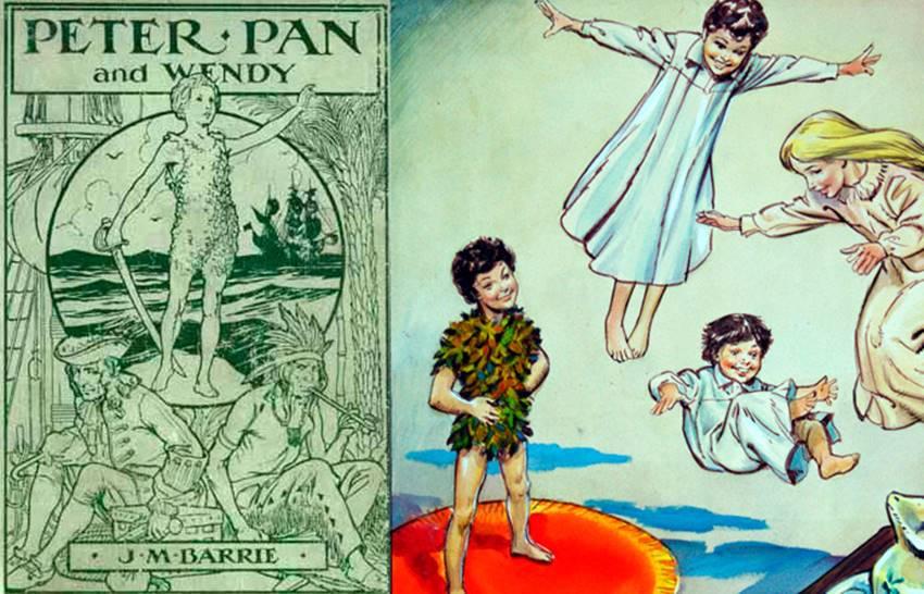 Peter Pan, de J. M Barrie.