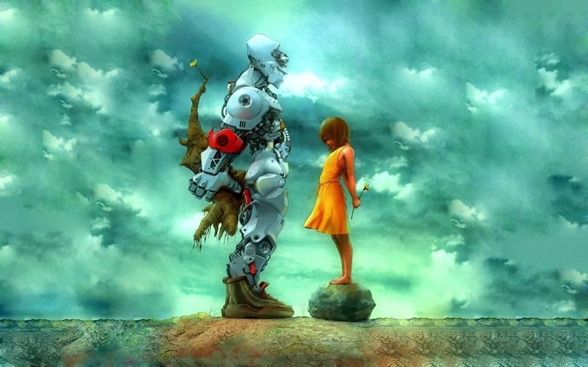 Amor robot.