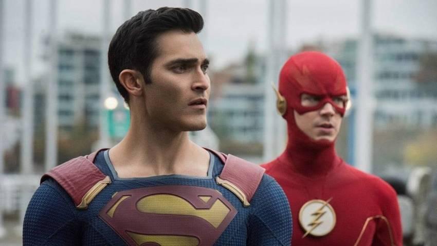 El Superman y Flash de CW