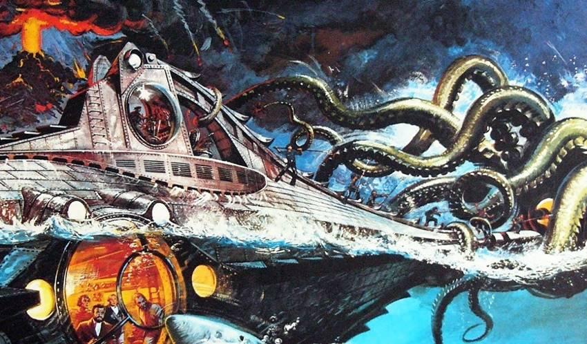 Los fantásticos mundos de Julio Verne.