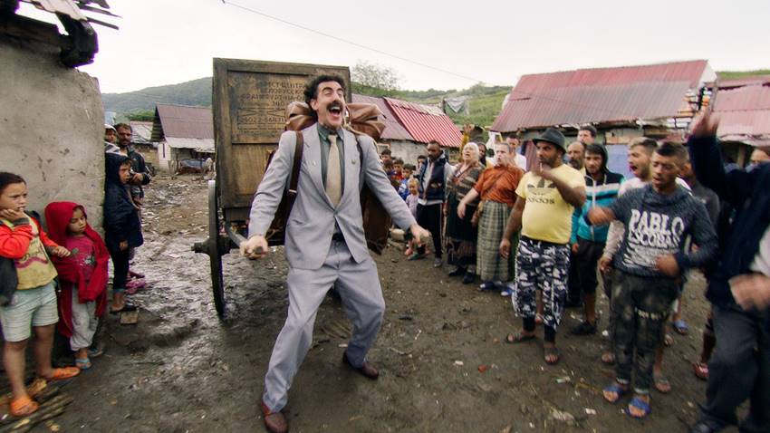 Sacha Baron Cohen en Borat 2