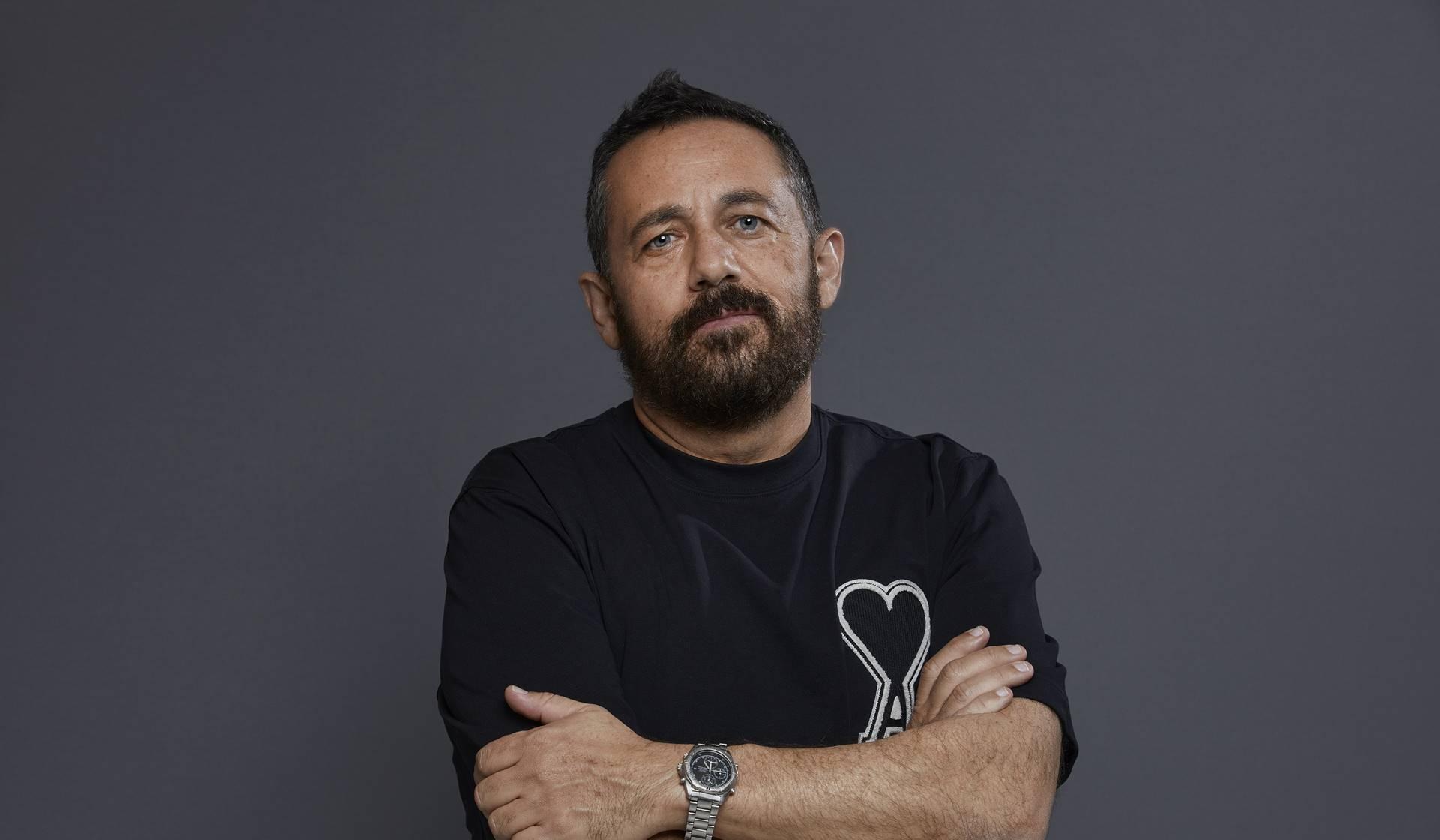 Retrato del actor Pepón Nieto. ©Xavier Torres-Bacchetta.