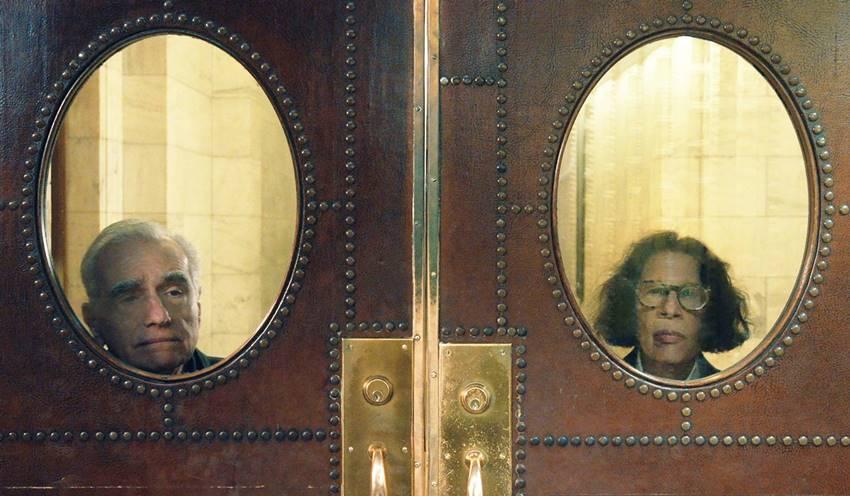 Fran Lebowitz y Martin Scorsese en Supongamos que Nueva York es una ciudad.