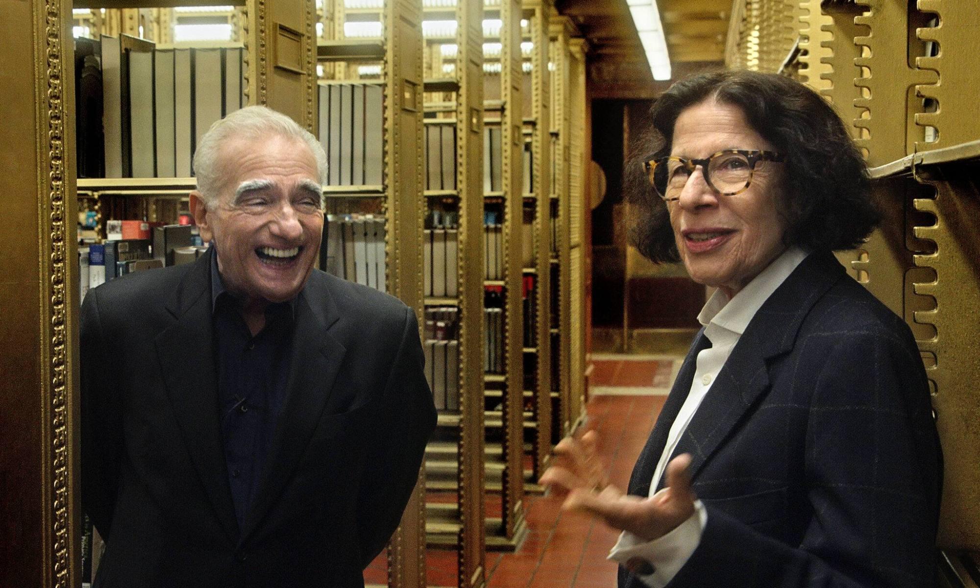 Fran Lebowitz y Martin Scorsese en Supongamos que Nueva York es una ciudad