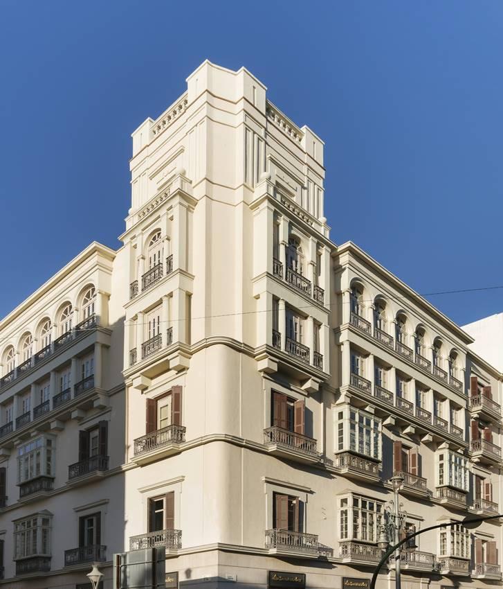 El edificio en que se encuentran los apartamentos de Halcyon Days