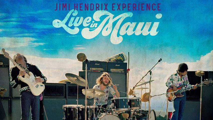 Jimi Hendrix in Maui