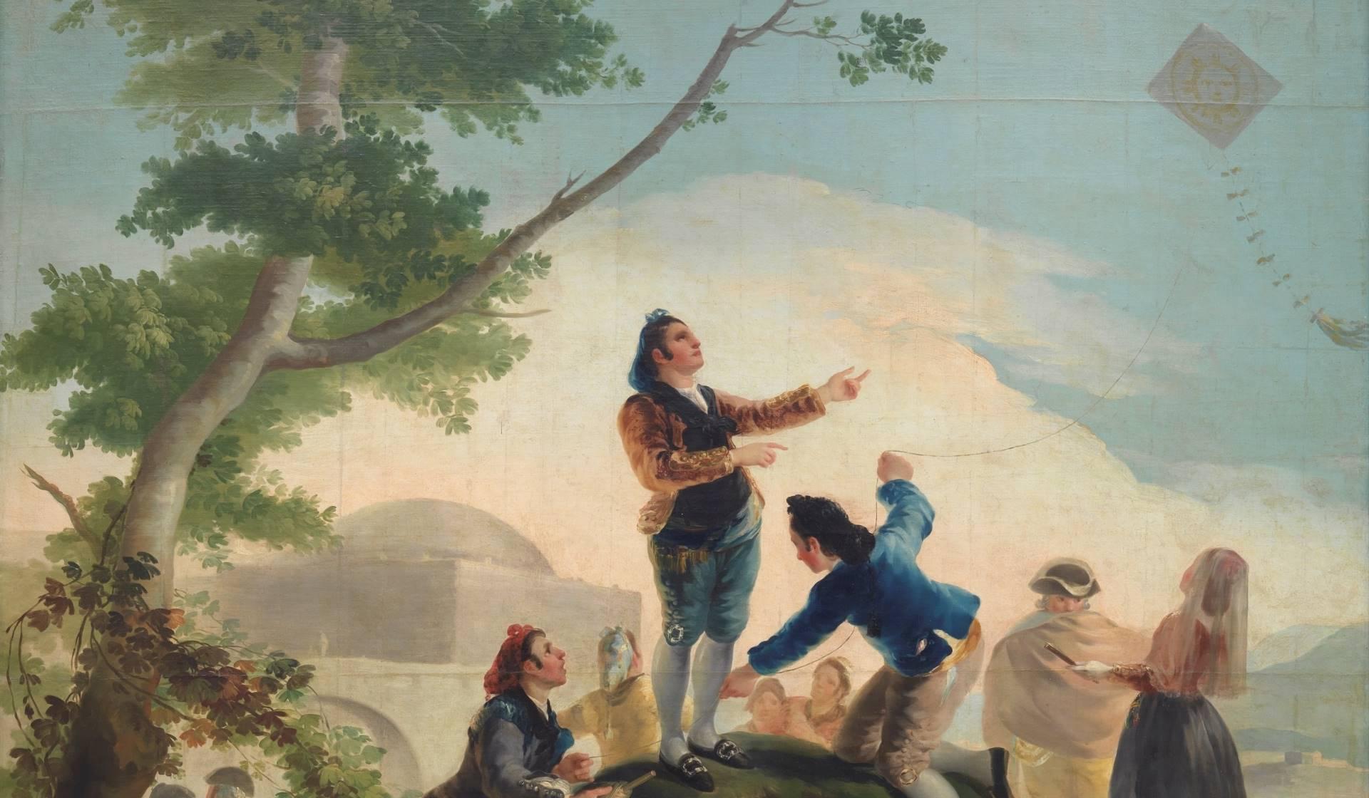 Exposición ¿Goya en un hospital? de la Fundación Cultura en Vena en el Hospital Puerta de Hierro de Madrid.