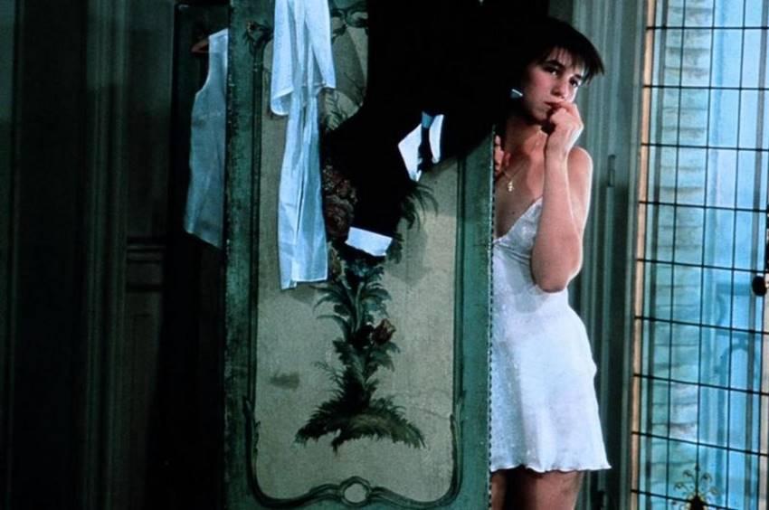 Charlotte Gainsbourg en La pequeña ladrona.