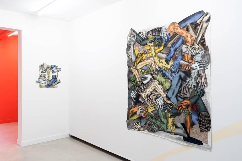 Susanna Inglada en Galerie Bart 2020. Foto por Koen Kievits