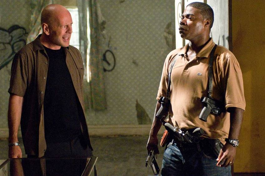 Bruce Willis y Tracy Morgan en Cop Out